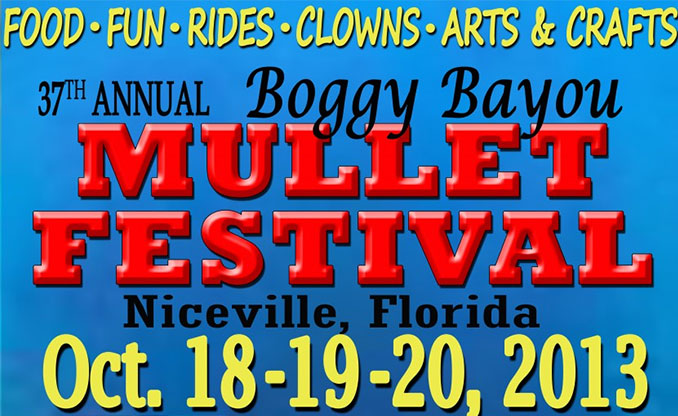 Your Guide To The Boggy Bayou Mullet Festival 2013
