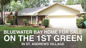 Bluewater Bay Golf Course Home On The 1st Green – 702 Prestwick Drive