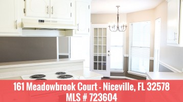 Blue Pine Village – 161 Meadowbrook Court, Niceville, FL Home For Sale