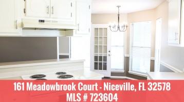 Blue Pine Village – 161 Meadowbrook Court, Niceville, FL Home For Sale