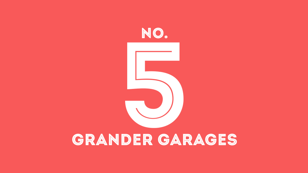 Garages with lifts