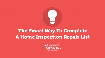 The Smart Way To Complete A Home Inspection Repair List
